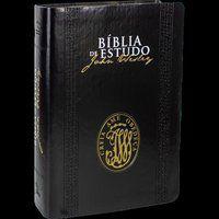Bíblia de Estudo John Wesley Luxo Nova Almeida Atualizad NAA