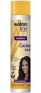 Salon Line Shampoo Cachos S.O.S - 300ml