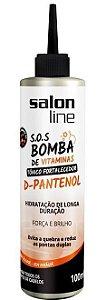 Tônico Fortalecedor SOS Bomba de Vitaminas Salon Line - D-Pantenol - 100ml