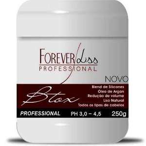 Forever Liss Btox - Botox Capilar Argan Oil - 250g