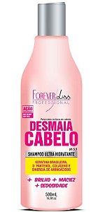 Desmaia Cabelo Shampoo Forever Liss - 500ml