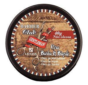 Barber Club Cera Barba e Bigode Lattans - 40g