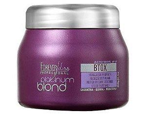 Platinum Blond Botox Matizador Intensive Forever Liss - 250g