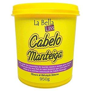 Cabelo Manteiga Máscara de Hidratação Profunda La Bella Liss - 950g