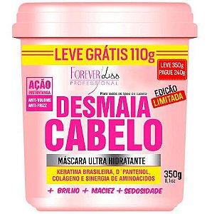 Desmaia Cabelo Máscara Ultra Hidratante Forever Liss - EDIÇÃO LIMITADA - 350g