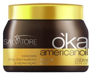 Salvatore Oka Americanoil Máscara Pós-Tratamento com Óleo de Ojon - 250ml