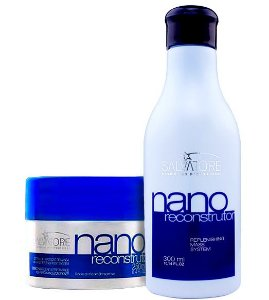 Salvatore Nano Reconstrutor Kit Duo (Shampoo 300ml + Condicionador 250ml)