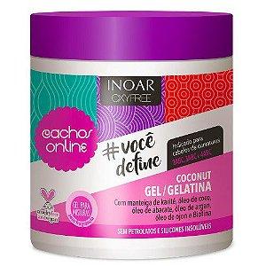 Inoar Cachos Online - Você Define - Coconut Gel/Gelatina - 500g