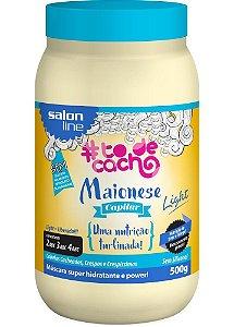 Maionese Capilar To de Cacho Light - Uma Nutrição Turbinada Salon Line - 500g