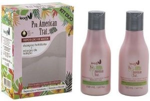 Leads Care - Kit Duo American Trat (Shampoo 150ml + Máscara 150ml) - 2 Produtos