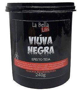 Viúva Negra Máscara Reconstrutora Efeito Teia La Bella Liss - 240g