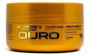 Máscara Banho de Ouro Cicatri Mask Lé Charme's - 300g