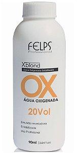 Felps Xblond OX Água Oxigenada 20 Volumes - 90ml