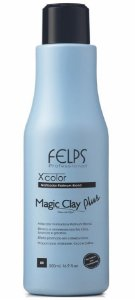 Felps Magic Clay Plus Xcolor Matizador Platinum Blond - 500g
