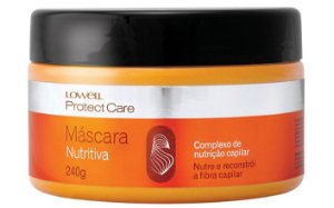 Lowell Protect Care Máscara Nutritiva - 240g