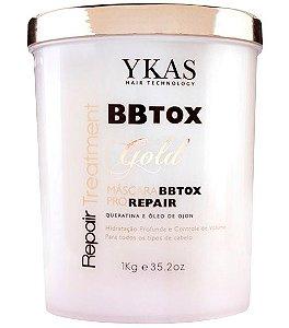Ykas Gold BBTOX Pro Repair Máscara Botox - 1kg