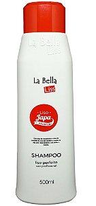 Liso Japa Premium - Shampoo Liso Perfeito La Bella Liss - 500ml