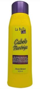 Cabelo Manteiga Shampoo Hidratante La Bella Liss - 500ml