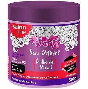 Bora Definir Brilho de Diva! #ToDeCacho - Definidor de Cachos Salon Line - 500g