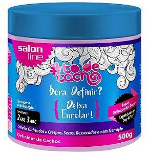 Bora Definir Deixa Enrolar! #ToDeCacho - Definidor de Cachos Salon Line - 500g