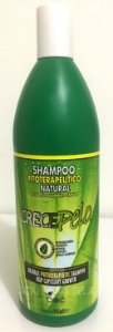 Crece Pelo - Shampoo Tratamento Fitoterápico Natural de Crescimento Capilar - 965ml (Litro)