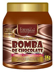 Bomba de Chocolate Máscara Ultra Hidratante Forever Liss - 1kg