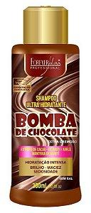 Bomba de Chocolate Shampoo Ultra Hidratante Forever Liss - 300ml