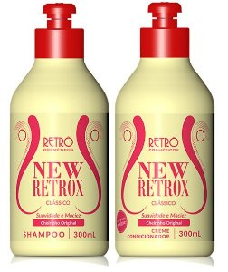 Retrô Kit New Retrox Clássico Shampoo + Condicionador - 2x300ml