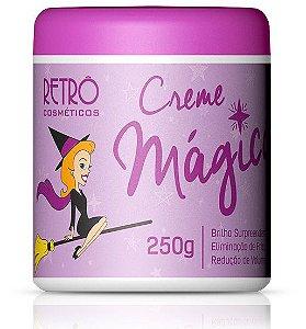 Retrô Creme Mágico Máscara de Brilho Intenso - 250g