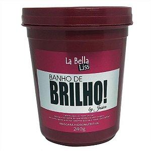 Banho de Brilho Máscara Hidronutritiva La Bella Liss - 240g