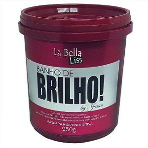 Banho de Brilho Máscara Hidronutritiva La Bella Liss - 950g