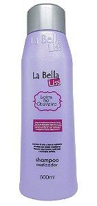 Loira no Chuveiro Shampoo Matizador La Bella Liss - 500ml