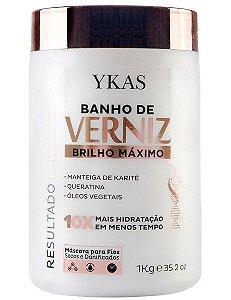 Ykas Banho de Verniz Máscara de Brilho Máximo - 1kg