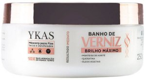 Ykas Banho de Verniz Máscara de Brilho Máximo - 250g
