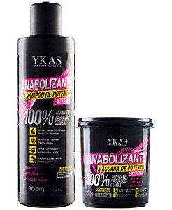 Ykas Anabolizante Capilar Kit Manutenção e Tratamento (Shampoo 300ml + Máscara 250g)
