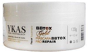 Ykas Gold BBTOX Pro Repair Máscara Botox - 120g
