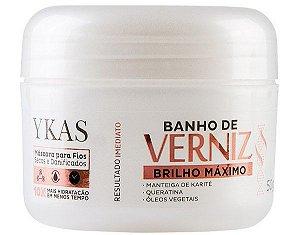 Ykas Banho de Verniz Máscara de Brilho Máximo - 50g