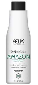 Felps Amazon The Best Shampoo que Alisa - 1 Litro