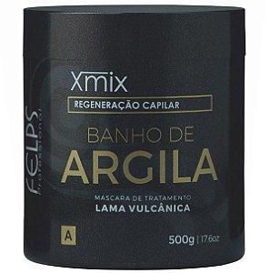 Felps Banho de Argila Xmix Máscara de Tratamento Capilar - 500g