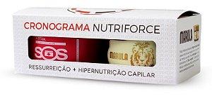 Felps Cronograma Capilar Kit Nutriforce (SOS + Marula) - 2x300g