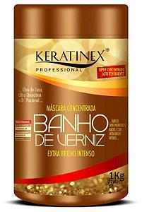 Keratinex Banho de Verniz Máscara Concentrada Extra Brilho Intenso - 1kg