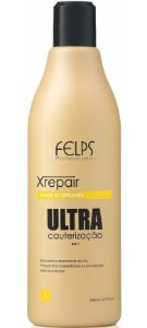 Felps Xrepair Ultra Cauterização Leave-in Defrizante - 500ml