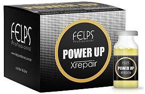 Felps Xrepair Power Up Complexo de Vitaminas Caixa com 9 Ampolas - 9x15ml