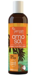 Yenzah Amo Sol Leave-in com Filtro Solar - 240ml
