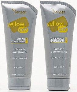 Yenzah Yellow Off Kit de Tratamento Desamarelador (Shampoo + Condicionador) - 2x200ml