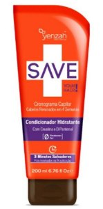 Yenzah Save Your Hair Cronograma Capilar Condicionador Hidratante - 200ml