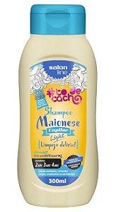 Maionese Capilar Light Shampoo To de Cacho - Limpeza delícia! Salon Line - 300ml