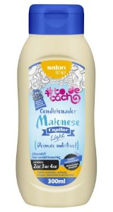 Maionese Capilar Light Condicionador To de Cacho - Desmaio Nutritivo! Salon Line - 300ml