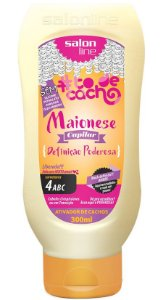 Maionese Capilar Ativador de Cachos #ToDeCacho - Definição Poderosa Salon Line - 300ml