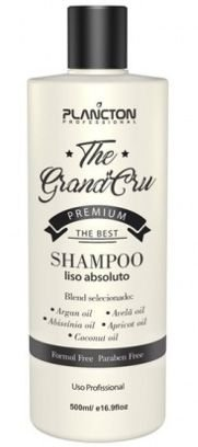 Plancton The Grand Cru Shampoo Liso Absoluto - 500ml